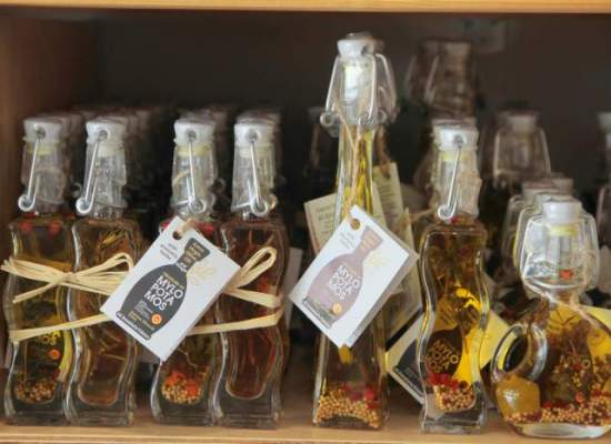 Lefkada Vassiliki traditional products